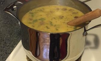 Creamy Sausage and Potato Soup